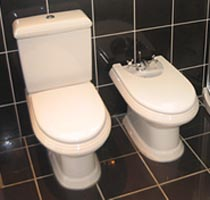 toilet installations